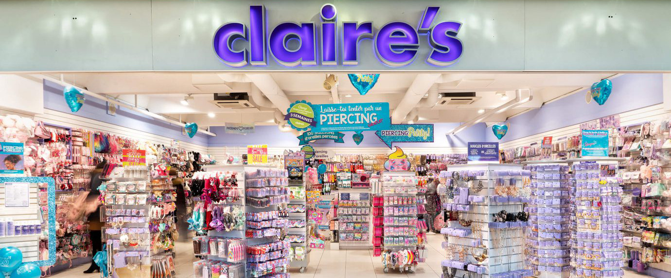 banniere Claire's