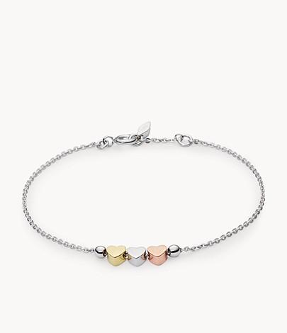 bracelet-Fossil-femme-3-coeurs
