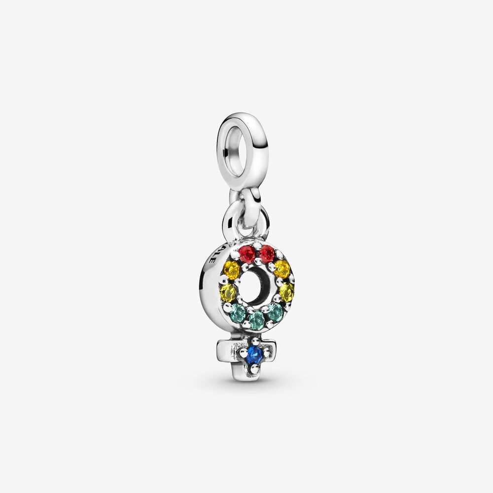 pendentif charm Pandora symbole femme